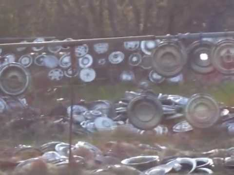 Check This Fence Called Hubcap Heaven Youtube