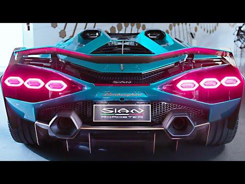 Lamborghini Sián Roadster (2021) Full Presentation | Hi-Tech Super Sports Car