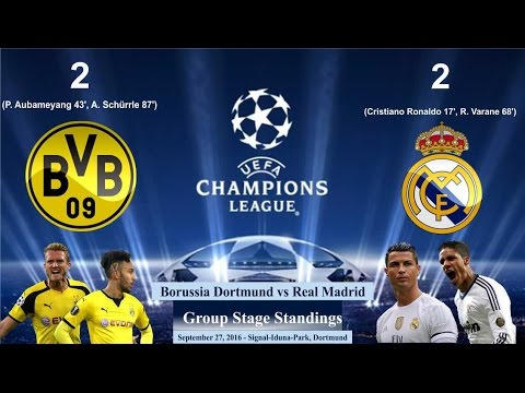 Download Borussia Dortmund vs Real Madrid 2-2 All Goals & Highlights ● Cuplikan Gol 27/09/2016 | UCL 2016/17