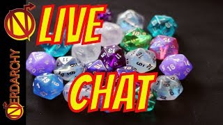 Web DM Charity Stream- Escape from Flavortown! |Nerdarchy Live Chat #301