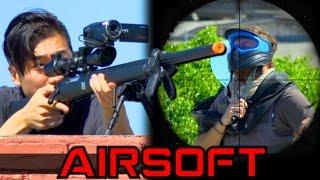 Airsoft Sniper Hostage Rescue
