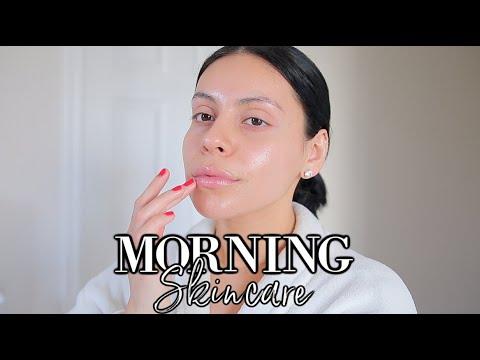 MORNING SKINCARE ROUTINE - YouTube