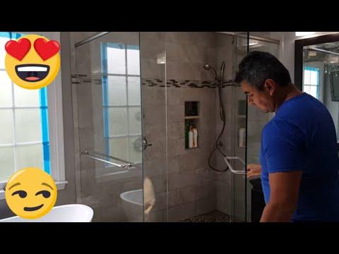 Ideas for master bedroom Bathrooms BIG SHOWER!!!