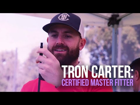 Tron becomes a Callaway Certified Master Fitter
