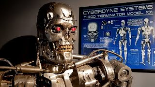Man Spent 4 Years Hand Making Full Scale Terminator T-800 Out Of Metal