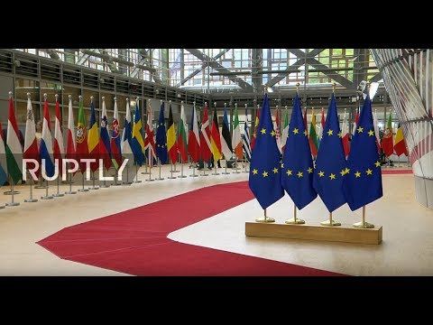 LIVE: European Council summit debates EU nominations: day 1 arrivals and roundtable