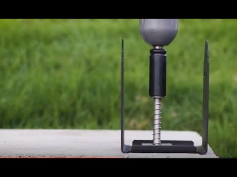 How To Install A Post Base With Stainless-Steel Titen HD® Heavy-Duty Screw Anchors