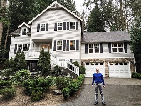 Living in the Woodinville, WA wine country - This is my personal house, let's take a look