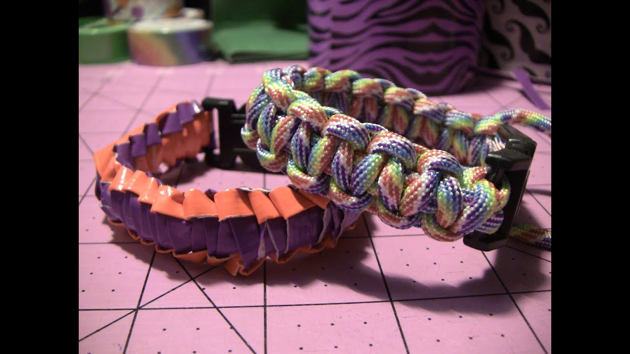 How To Make A Duct Tape Survival Style Bracelet