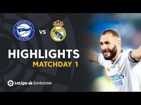 Resumen de Deportivo Alavés vs Real Madrid (1-4)