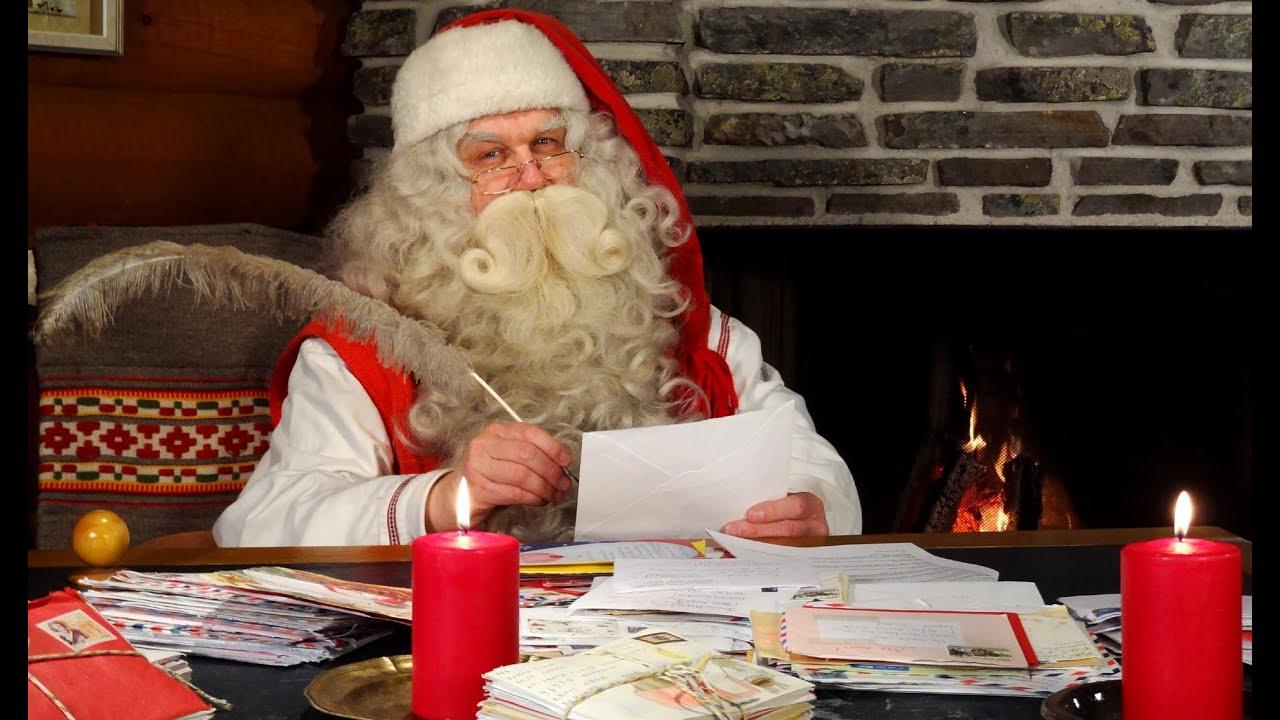 Esiste Babbo Natale Si O No.Intervista A Babbo Natale In Lapponia Finlandia Rovaniemi Villaggio