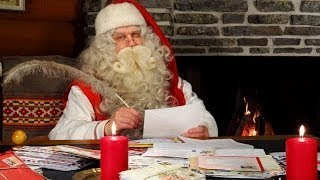 Intervista a Babbo Natale in Lapponia Finlandia: Rovaniemi Villaggio Santa Claus turismo per bambini