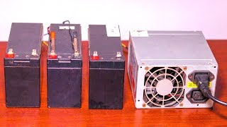 How To Make 12 Volt Battery Charger DIY