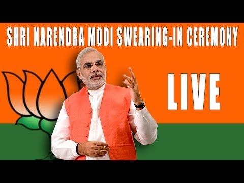 Narendra Modi swearing in ceremony LIVE