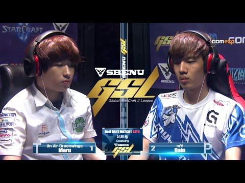 Maru vs Rain TvP Code S Ro8 Match 3 part1, 2015 SBENU GSL Season 2   StarCraft 2
