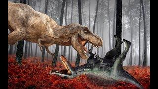 ВОТ И ВСЁ!!! КОНЕЦ СПИНОЗАВРУ!!! Динозавры в плену у спинозавра. ДИНОЗАВРЫ для детей