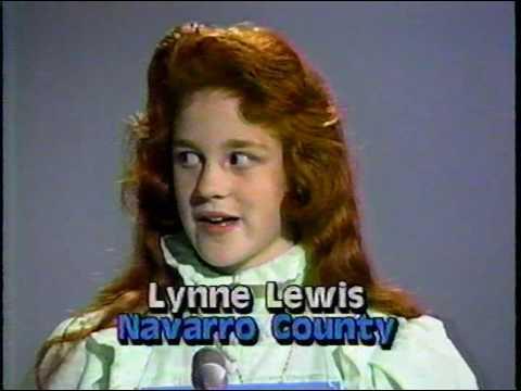 Dallas Morning News Regional Spelling Bee (1987)