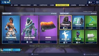 BOUTIQUE FORTNITE DU 15 AVRIL 2019 - FORTNITE ITEM SHOP APRIL 15 2019 NEW SKIN !!