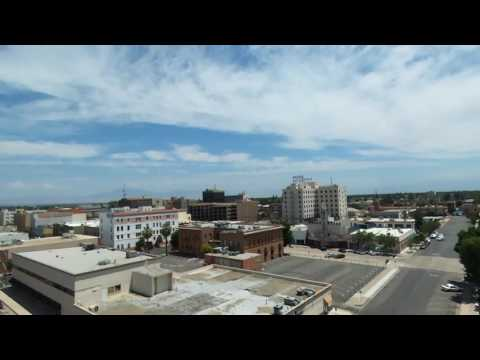 #2 downtown bakersfield drone flyby