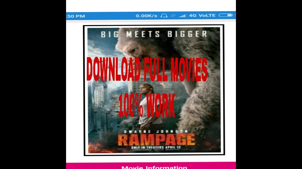 Download RAMPAGE FULL MOVIES DOWNLOAD