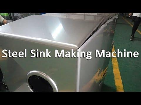 stainless steel handmade kitchen sink making machines