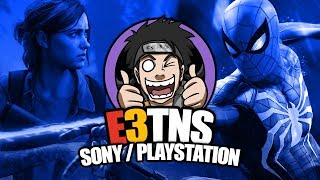 E3 2018 Livestream: Sony / PlayStation (Live Reaction) | The Last of Us 2 | Spider-Man | Control
