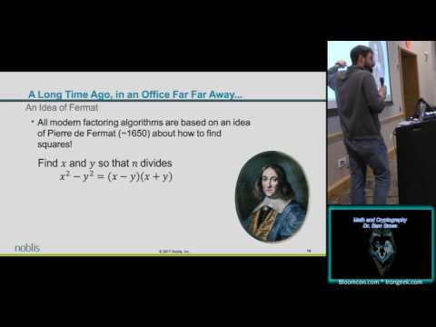 105 Math and Cryptography Sam Gross