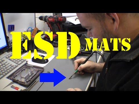 ESD - lab upgrade - electrostatic discharge protection