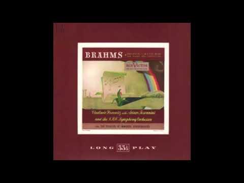 BRAHMS: Piano Concerto No. 2 In B Flat Major Op. 83 / Horowitz · Toscanini · NBC Symphony Orchestra
