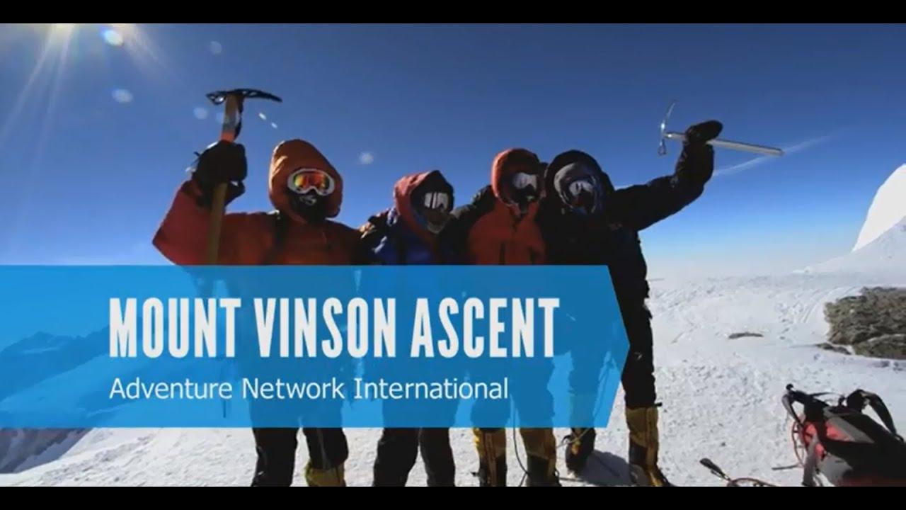 【動画】ヴィンソン・マシフ登山の旅