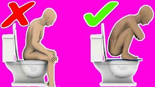 How to poop quickly when you are constipated