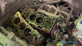 пежо 307, прогорел клапан выпуска на двигателе TU5JP4