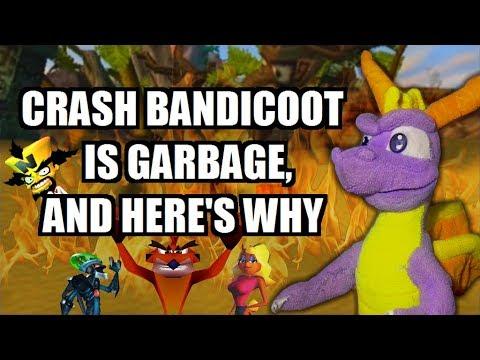 SPYRO ROASTS: Crash Bandicoot - The Original Trilogy