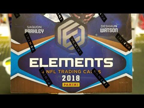 2018 Panini Elements Football Hobby Box. 3 Hits per Box