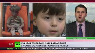 CNN anchor Christiane Amanpour, who challenged the Russian foreign ...