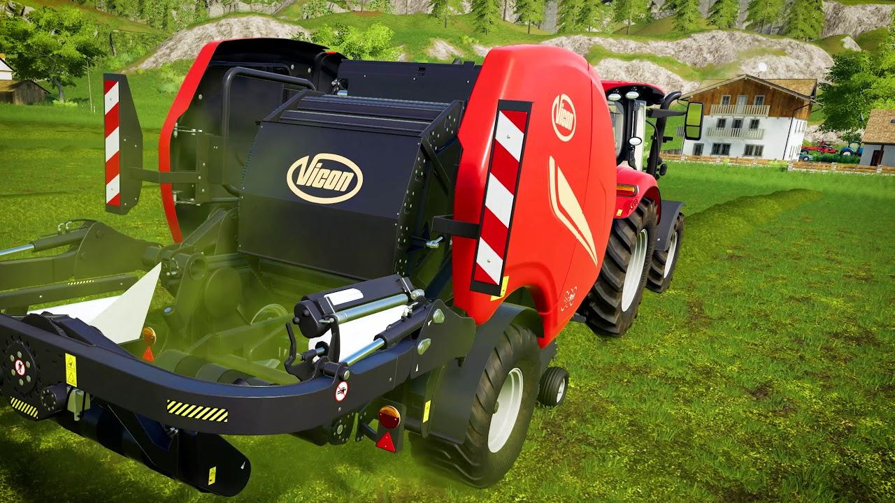 Farming Simulator 19 - Kverneland & Vicon Equipment Pack Download