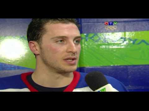 Ryan Callahan Interview on CTV 2/21/2010