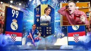 😍 MODRIC TOTY 99 è *INCREDIBILE*!!! | Pack Opening 125k Lightning Rounds | FIFA 19 ITA