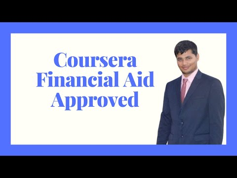 Coursera financial aid approved 2021