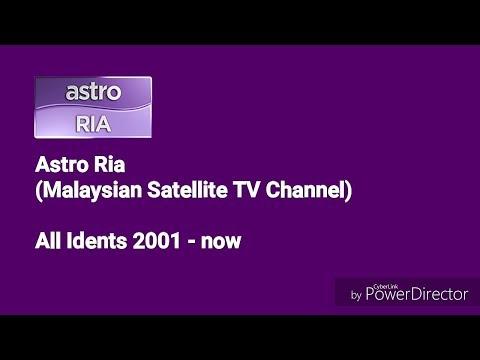 Astro Ria All Idents (2001