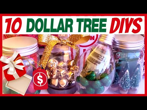 10 LAST MINUTE DOLLAR TREE GIFT CARD DIYS | HOW TO DRESS UP CASH & GIFT CARDS