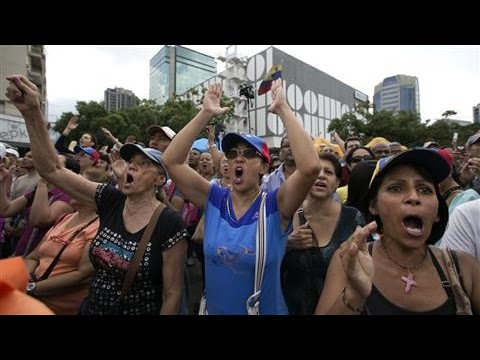 Protests in Venezuela Over Shortages and Blackouts