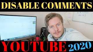 How To Disable Comments On YouTube Video In 2020