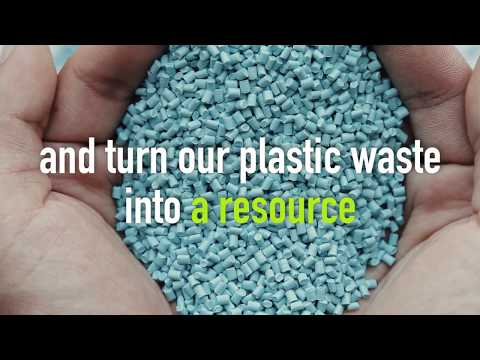 SUEZ, turn plastic waste into a resource