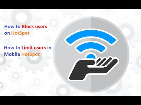 How to Block users from Mobile Hotspot | Set Limited Users || OnlineTipsZone