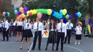 """1 сентября. Полина пошла в 4 класс! Одесса. Школа """"Гармония"""""""