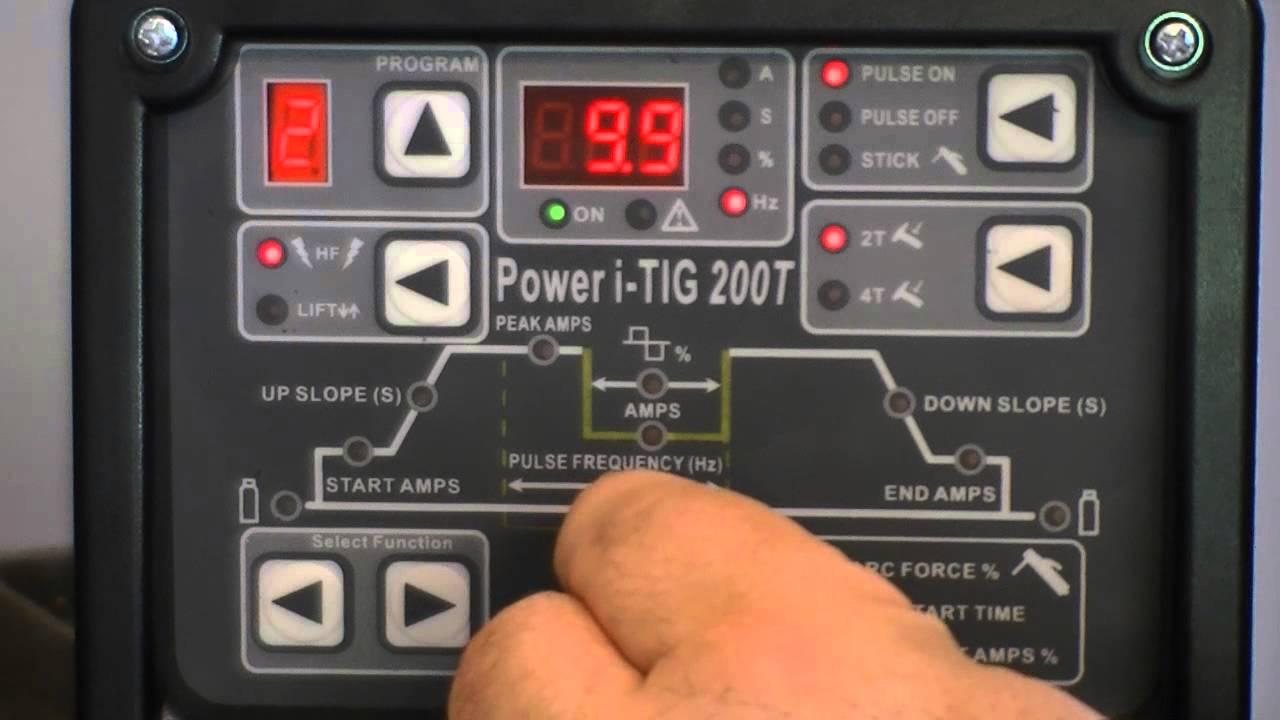 Everlast Tutorial: How to setup the Digital Power i-TIG 200t TIG/Stick  Inverter Welder