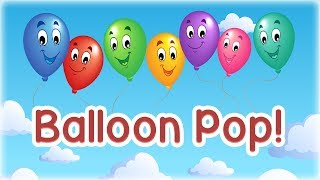 Balloon Pop Game for Kids - App Gameplay Video