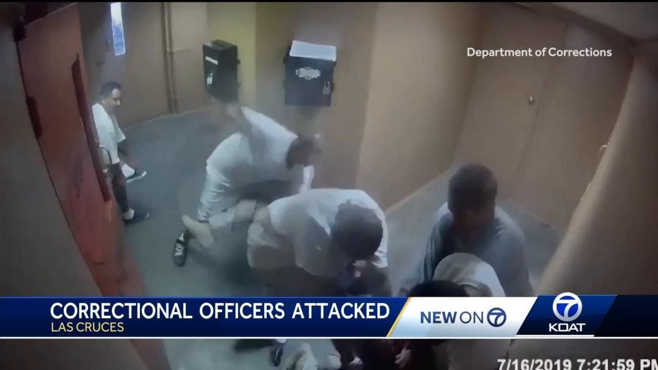 Seven against two: Video released shows brutal attack on correctional officers