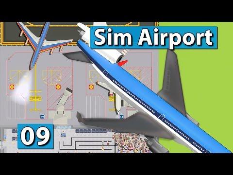 Sim Airport #9 ► Du falsche Schlange! ► Der Flughafen Bau und Management Simulator